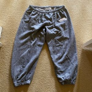 Roots Cropped Sweatpants Size Large
